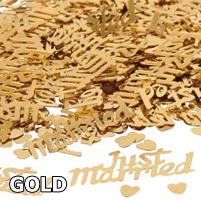 See our range of gold colour themed party & wedding supplies